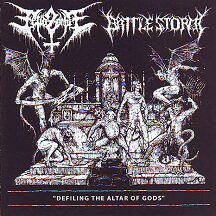 "Fetid Zombie/Battlestorm - ""Defiling the Altar of Gods"""