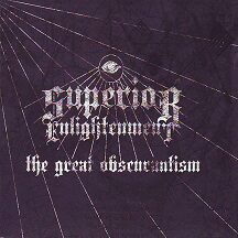 "Superior Enlightenment - ""The Great Obscurantism  (Digipak)"""