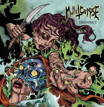cover art for Disinfect by Mullet Corpse