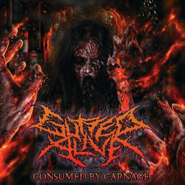 Cover art for Consumed by Carnage