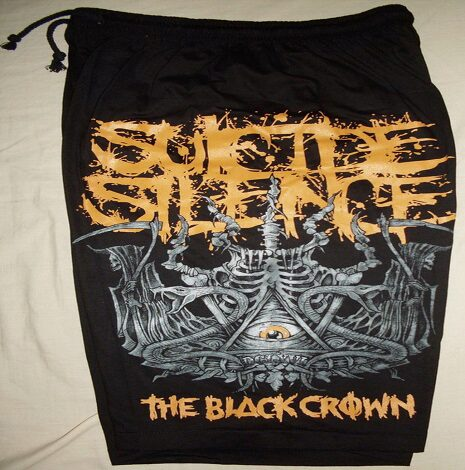 suicide silence the black crown shorts cdn records. Black Bedroom Furniture Sets. Home Design Ideas