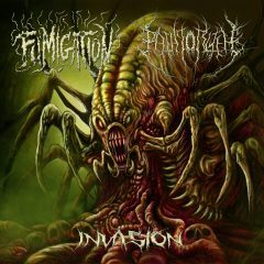 Album art for the Invasion split