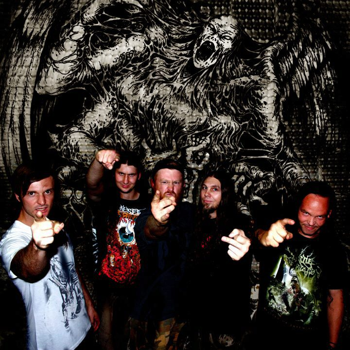 Bleeding Spawn band photo