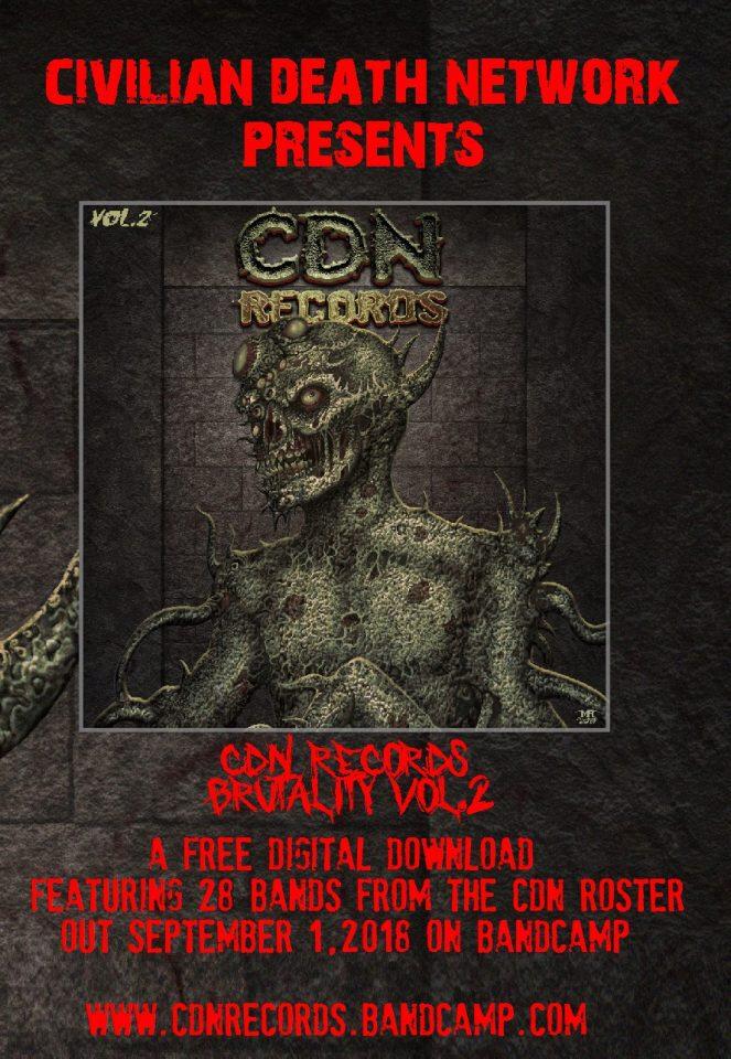 Brutality Volume 2 Promotional Flyer