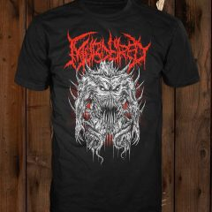 The front of the Possessed Corpse t-shirt