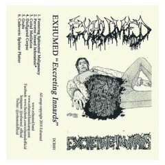Exhumed demo tape cover art
