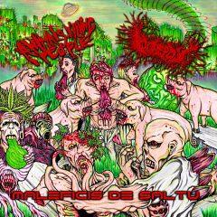 Album art for AKP, Gorepot split CD