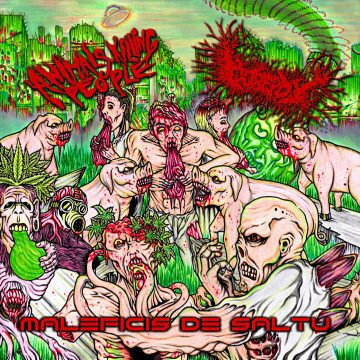 Album art for AKP, Gorepot split CD