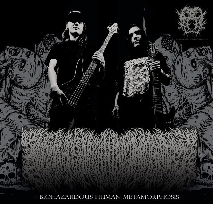 biohazardous human metamorphosis band photo