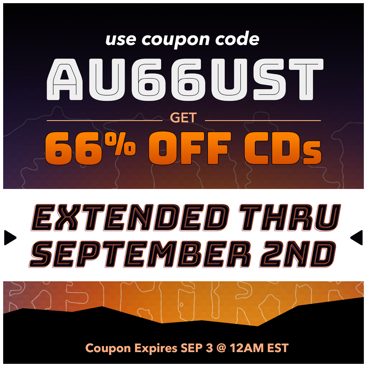 Extended offer promo graphic