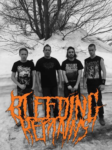 Bleeding Remains band photo 2019