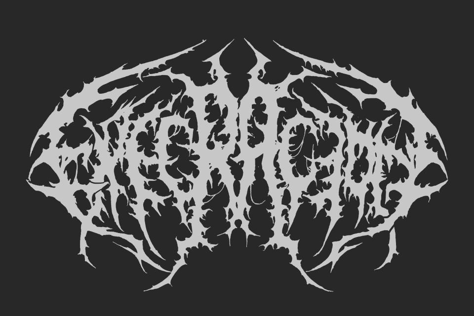 Execración band logo