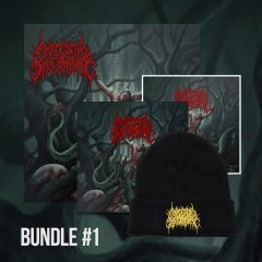 Bundle 1 includes a flag, a toque, a CD and a sticker