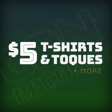 Promo graphic for apparel clearance
