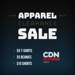 Promo graphic for the Apparel Clearance Sale
