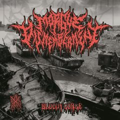 Album cover for Bloody Gorge by Morgue Dismemberment