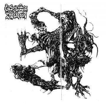 Cover art for Grotesque Infection re-release