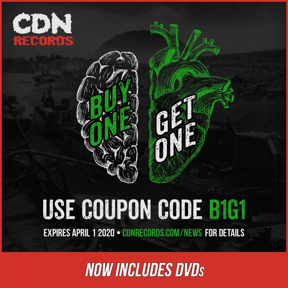 Updated promo graphic for B1G1 coupon code