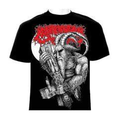 corprophemia red logo shirt mockup