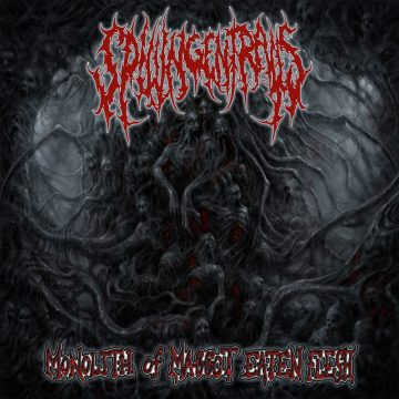 Cover art for Monolith of Maggot Eaten Flesh