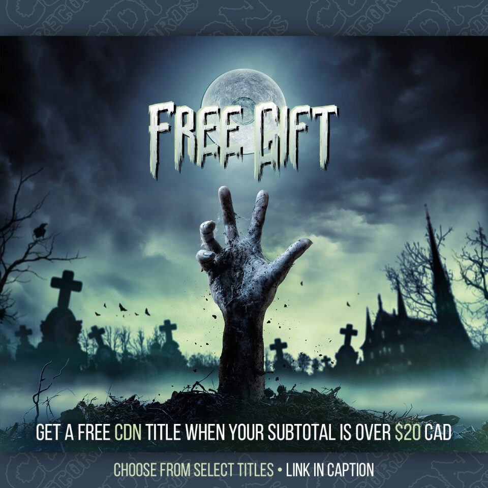 Promo graphic for Free Gift offer