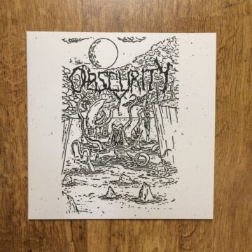 front cover of the 1992 Demo LP