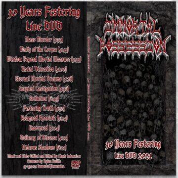 Immortal Possession DVD cover