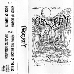 Booklet for Visions of Gehenna cassette