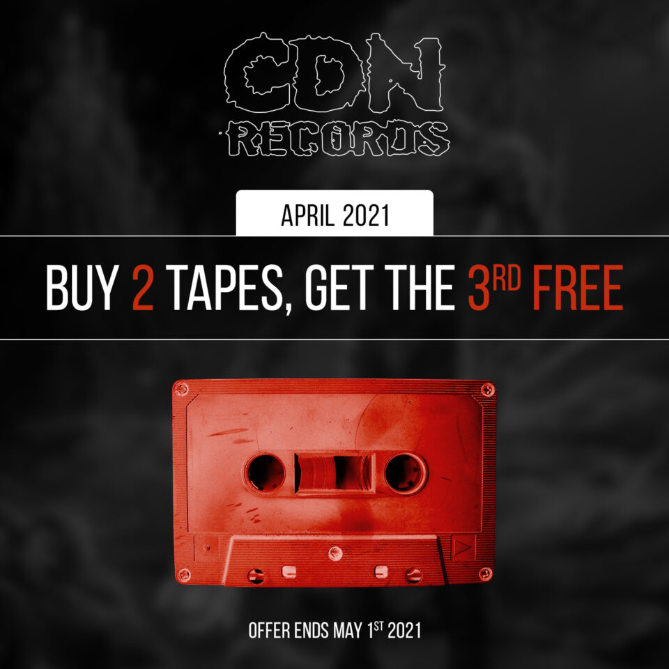 promo graphic for tapes offer