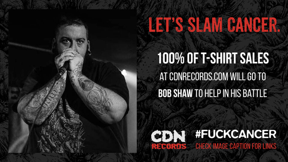 promo graphic for Bob Shaw's fundraiser