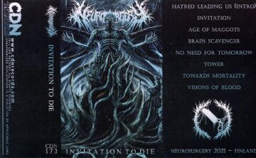 Nuerosurgery cassette artwork